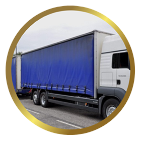 PVC Coated Fabrics Truck Cover Manufacturer, Supplier, Exporter Mumbai-India