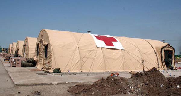 Medical Tents Amp Temporary Roofing Fabric Manufacturer