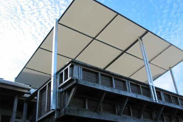 Pvc Coated Fabrics Tensile Membrane Structures For Roof Covers