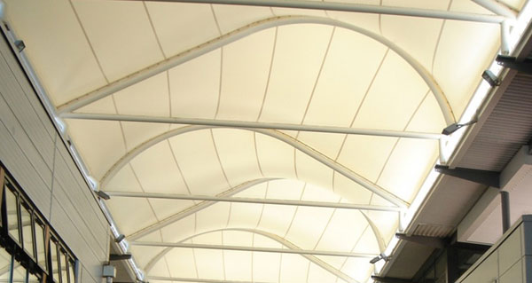 Pvc Coated Fabrics Tensile Membrane Structures For Shelter