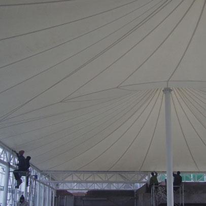 PVC Coated Fabrics Tents & Temporary Roofing Manufacturer Mumbai
